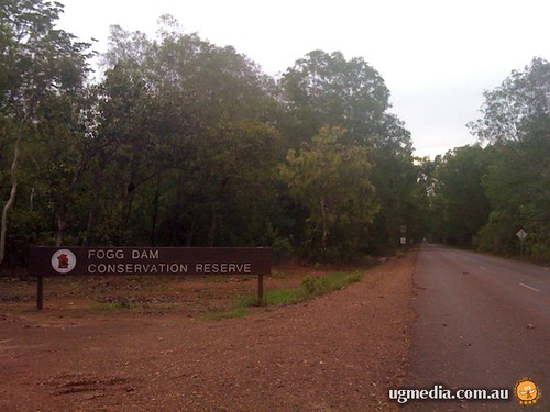 Fogg Dam Conservation Park sign