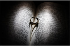 Bible & Ring Heart