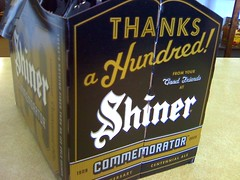 New to us: Shiner 100