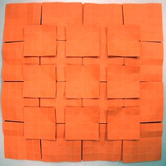 No.1 Five-and-Four (malachus) Tags: paper origami tessellation tesselation paperfolding origamitessellation origamitessellations