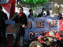 Anti-Wef Demo Davos 2009 (JUSO Schweiz) Tags: world demo schweiz switzerland forum rally davos wef globalization economic 2009 cdric antiwef krise globalisierung graubnden juso wermuth