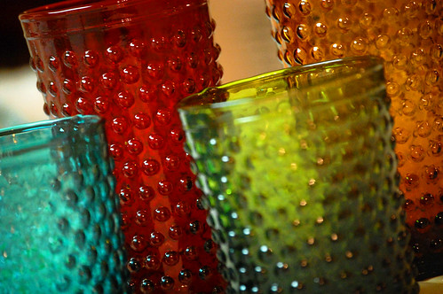 hobnail reproduction glasses