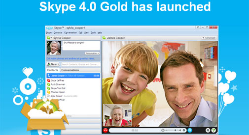 Skype 4.0 Gold