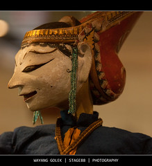 Wayang Golek (Sam Ili) Tags: color art museum canon puppet bokeh australia national rod canberra sultan vii wayang surakarta golek 450d mangkunegaran canon24105mm4