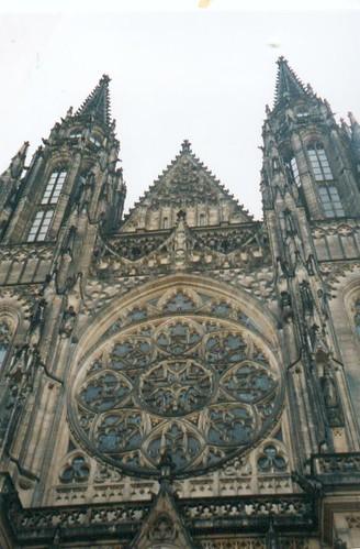 Majestueuze entr&eacutee; van St. Vitus