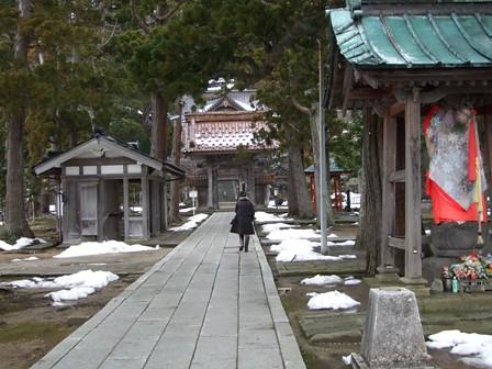 善寶寺~参道