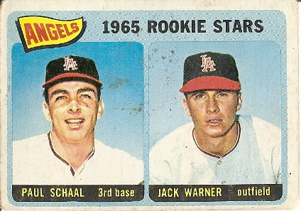 Paul Schaal and Jack Warner by you.