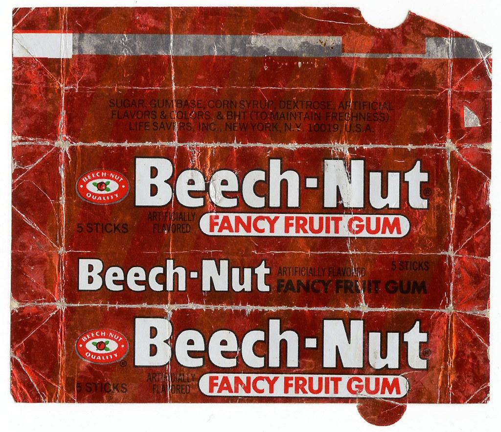 Beech-Nut Fancy Fruit Gum