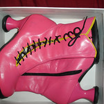 Pink Fluevog Mini Lover thumbnail