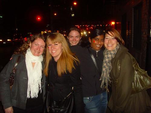 Florence, Alice, Caroline, Kala & Meghan - Valentine's Day - February 14, 2009