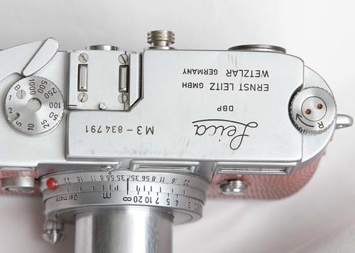 Leica M3, Double Stroke, 1956