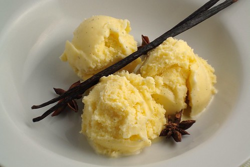 Star Anise and Vanilla Bean Ice Cream