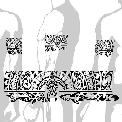 Tattoo Maori Bracelete Polin sia kirituhi