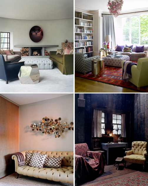 suzy hoodless: tufted furniture inspiration