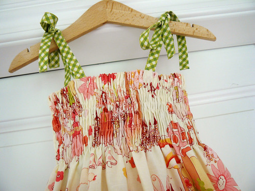 Summer Fairy Dress - shirring