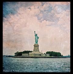 Statue of Liberty 4 (matthewbharrison) Tags: newyorkcity statueofliberty statenislandferry ellisisland 2880mm carlzeiss postprocessing pentaconsixtl jacksilver buddyscott