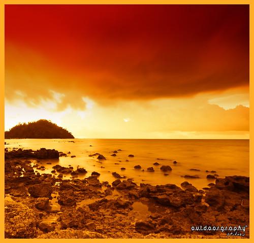 Pulau Sayak Sunset #4 (Cokin + Gradient)