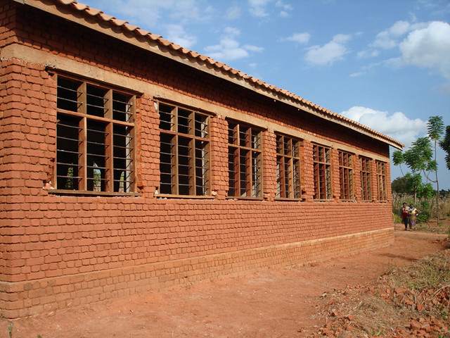 Classroom Block 1 (back view)