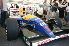 Williams-Renault FW15C at the 2009 Goodwood Festival of Speed (festivalos) Tags: england west cars sports car festival speed sussex 1 march williams f1 lord racing mans le formula motor 2009 goodwood chichester fw15c