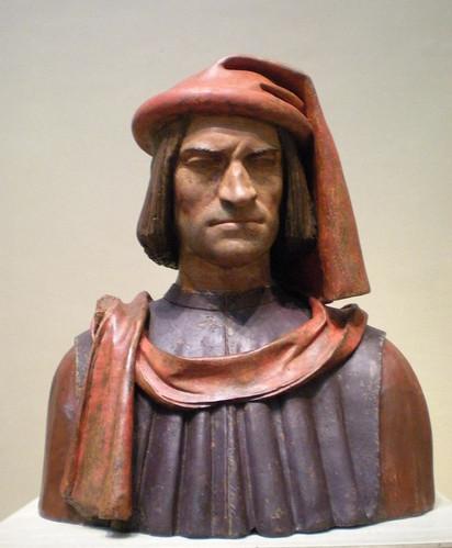 Lorenzo de' Medici portrait bust