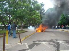 represión en la UNAH 5 de Agosto  1 por Protesta