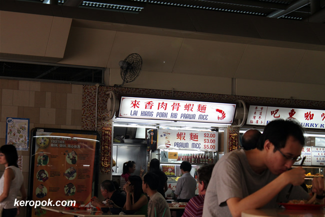 Lai Hiang Pork Rib Prawn Mee @ Pek Kio