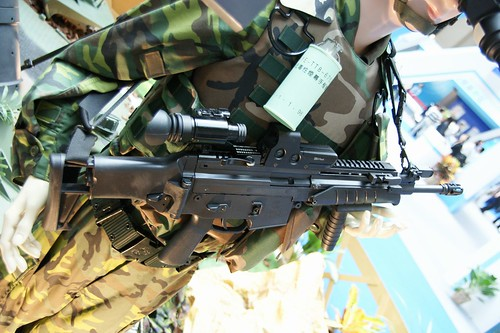 5.56mm T97 assault rifle, Taiwanese SCAR?