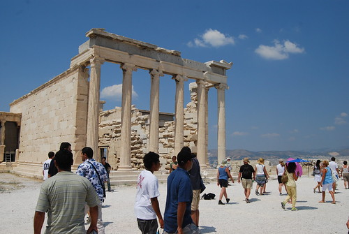 Part of the Acropolis, Athens, Greece