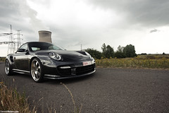 RUF TurboR Cabriolet. (Denniske) Tags: sky canon dark eos grey gris skies grigio photoshoot angle belgium belgique 05 911 gray wide dramatic belgi july twin sigma turbo 09 porsche mm pk dennis nm 700 drama 5th 1020 2009 supercar 07 900 rami grijs ruf cabriolet 997 fotoshoot noten bhp turbor dreamcar rturbo f456 40d denniske dennisnotencom wwwdennisnotencom