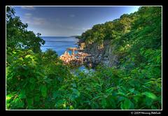 Helligdomsklipperne (Saint Rocks) (Mariusz Petelicki) Tags: balticsea hdr bornholm 3xp helligdomsklipperne mariuszpetelicki