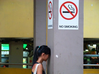 no smoking in singapore