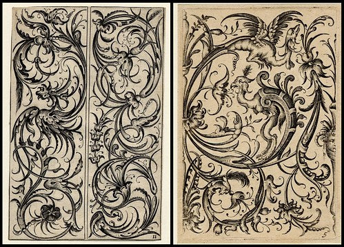 ornamental grotesques