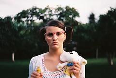 (MilkyAir) Tags: portrait film girl analog iso100 polska rossman prakticamtl3 milkyair