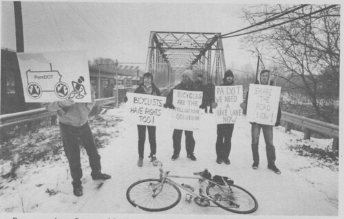 Betzwood Bridge Protest - February 1993