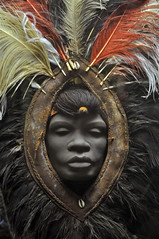 Masai Headdress (Head Not Included) (Mondmann) Tags: nyc newyorkcity ny newyork museum african culture masai headdress americanmuseumofnaturalhistory nikond90 mondmann