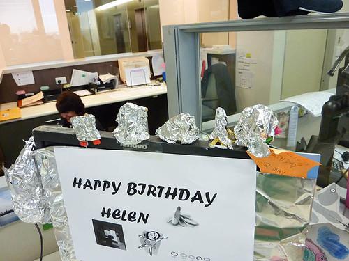 A Foiled birthday