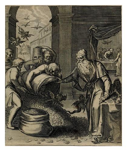 014-El incurable mal de la avaricia- Teatro moral de la vida humana1612- Otto Vaenius