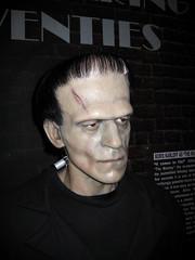 Frankenstein's Monster 1434 (Brechtbug) Tags: new york city madame halloween its monster museum neck scary with vampire frankenstein bolt horror terror boris wax alive now creature creeping loose fright tussauds karloff frankensteins