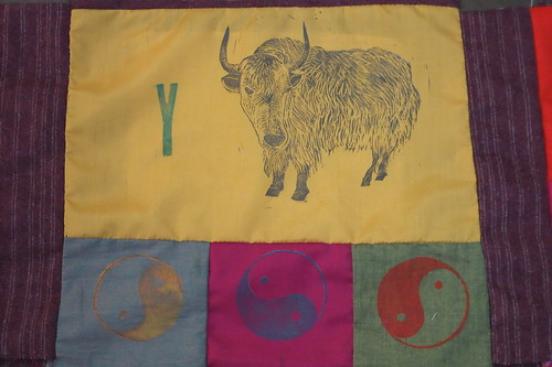 y is for yak, yin-yang and yellow