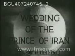 ROYAL WEDDING CELEBRATIONS IN TEHRAN 1939 (B) (Tulipe Noire) Tags: wedding persian 1930s iran princess egypt middleeast prince persia celebration egyptian crown tehran reza 1939 mohamed pahlavi fawzia