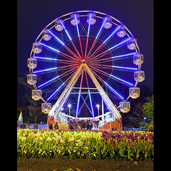 Floriade Ferris Wheel Classic (Damien Melksham) Tags: wheel ferris canberra 2009 floriade