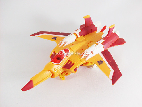 Transformers Sunstorm Animated Voyager - modo alterno