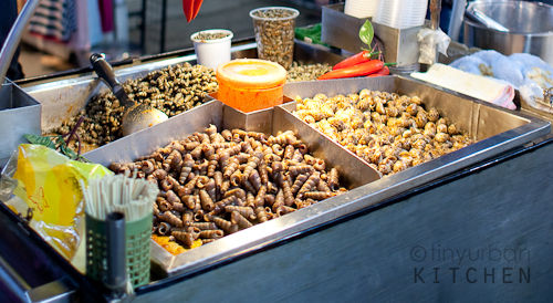 Shlin Night Market - insects?