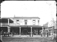 Corner of Perkins and Hunter Streets, Newcastle, NSW, [28 April 1891] (Cultural Collections, University of Newcastle) Tags: newcastle australia curry mercer nsw lloyd currie victoriatheatre tailor manning 1891 hunterstreet hunterst perkinsst perkinsstreet ralphsnowball snowballcollection ralphsnowballcollection asgn0768b36 rcurry rcurrycotailorsmercers lloydandmanning rcurrieco rcurrie newcastleregionnswhistorypictorialworks photographynewsouthwalesnewcastle