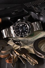 Rolex Submariner Date (ByBBR) Tags: keys keychain gun arms coins no steel cash 101 end sw crown oyster sig 50 links rolex handcuffs trigger dollars submariner solid 9mm perpetual bezel sauer p226 smithwesson blask 16610 lugholes