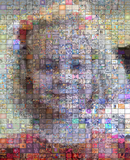 cool photo collage ideas ppt - Art 100 Collage Art