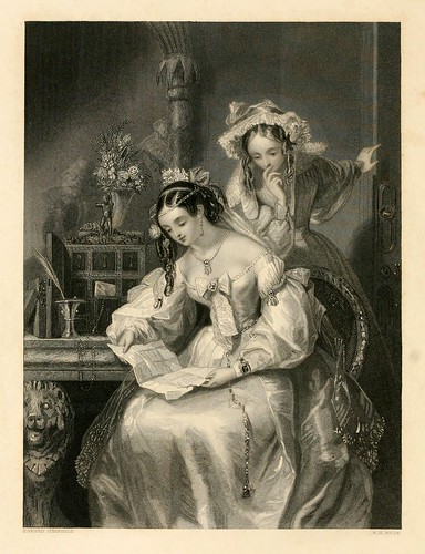 005-la carta de amor-The gallery of engravings (Volume 1) 1848