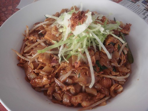 Fried kway teow@Nudo's