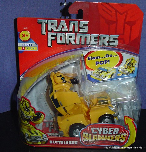 Bumbelebee Movie-2007  Cyber-Slammers Transformers 001