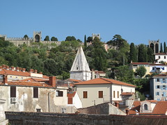 PIRAN - View to the Citadel (Andra MB) Tags: urlaub slovenia piran slowenien 2009 pirano concediu
